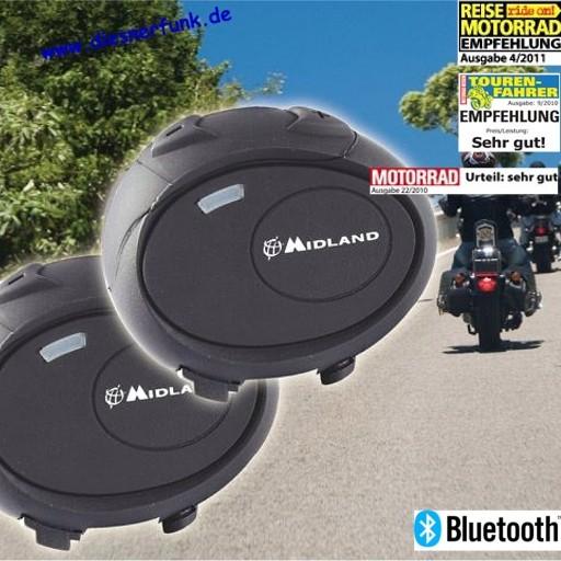 MIDLAND BT City Twin Bluetooth System für Motorradhelme drahtlos