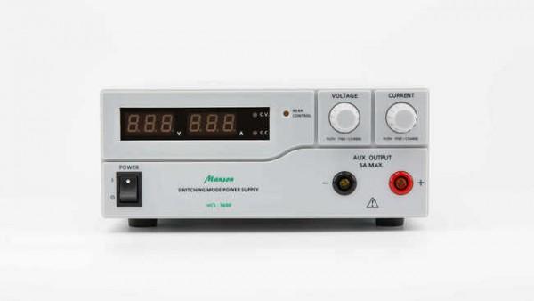 MANSON HCS-3600 Schaltnetzteil 60 Ampere