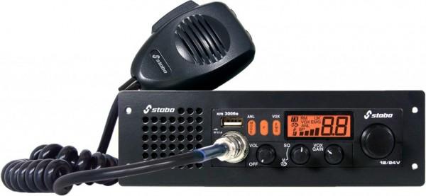 Stabo xm 3006e vox DIN12/24 Volt Freisprech USB CB Funkgerät