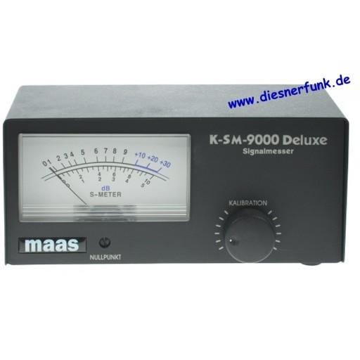 MAAS K-SM-9000 / KPO S-27 Signal Meter Externes S-Meter