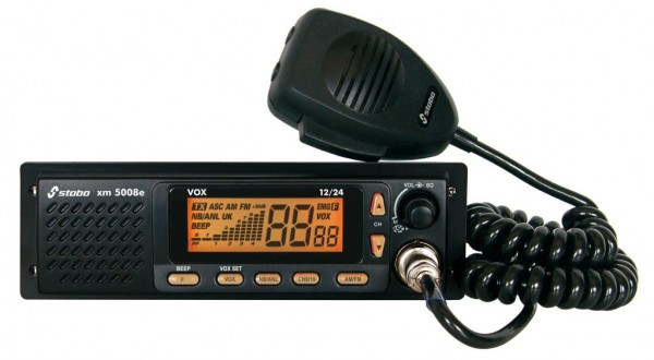 Stabo xm 5008e vox 12/24 Volt Freisprech CB Funkgerät DIN