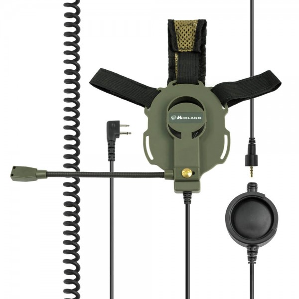 Bow-M Evo K Tactical Military Headset K-Norm Kenwood