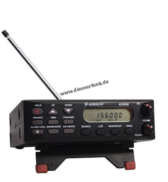 Albrecht AE 355 m Mobil Funkscanner 25-960Mhz