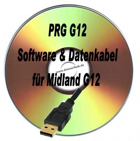 PRG G12 Programmierkabel & Software für Midland G12 USB