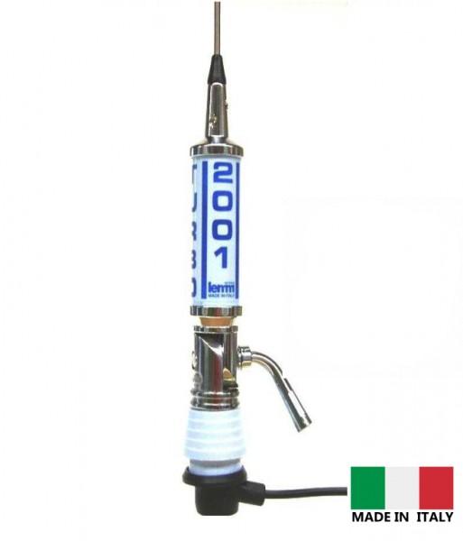 LEMM AT-2001 Turbo 2001 hellblau CB Mobilfunkantenne 200cm