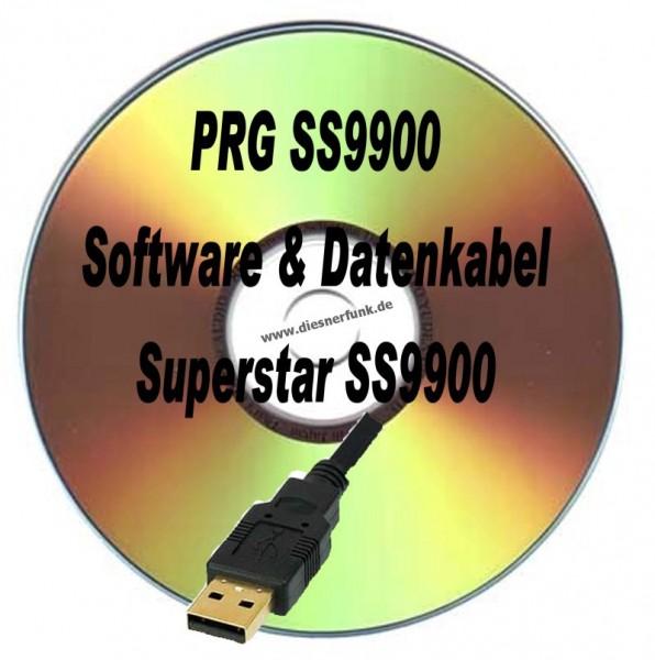 CRT Superstar SS9900USB Programmierkabel + Software