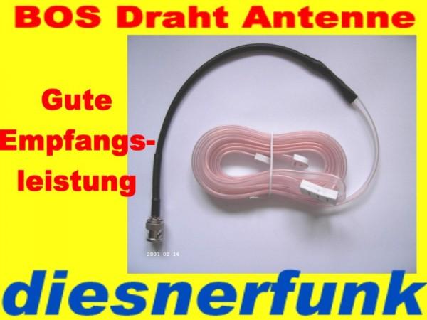 4m-Band BOS Polizeifunk Antenne Zimmerantenne 1,7m