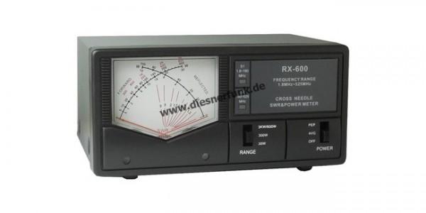 Maas RX-600 Multibereich 1.8-525Mhz Kreuzzeiger SWR / PWR