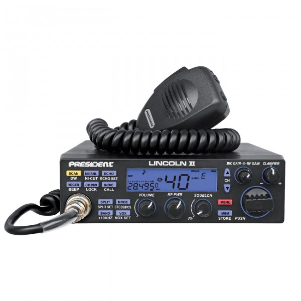 President Lincoln 2 Plus 10m/12m-Amateurfunk-Transceiver