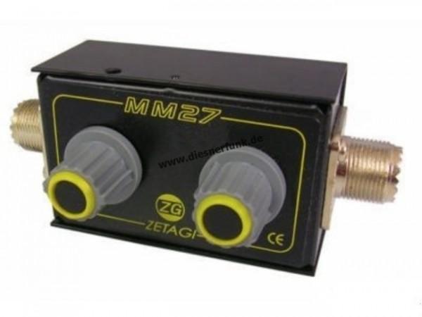 ZETAGI MM 27 Mini-Matchbox 26-28 MHz
