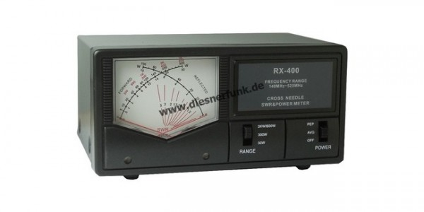 Maas RX-400 Betriebsfunk Kreuzzeiger 140-525 MHz & 600 Watt