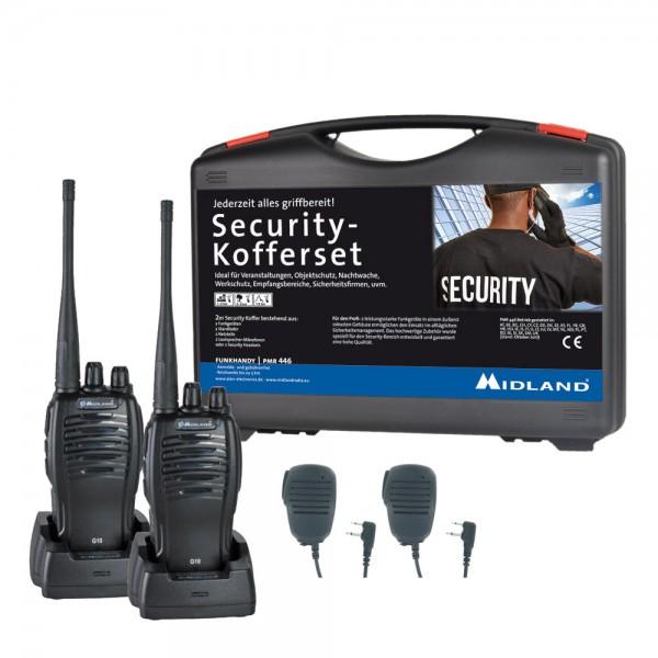 MIDLAND G10 PMR446 2er Security Kofferset SM500K