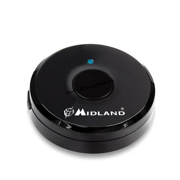 MIDLAND Bluetooth PTT-Taste zur Verwendung mit WA-Dongle C1200