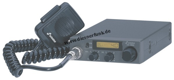 Stabo XM 3044 40 Kanal AM/FM 4 Watt CB-Funkgerät