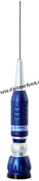 TURBO 2000 BLUE mit kippbaren Gelenkfuß und Kabel