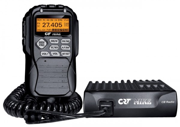 CRT MIKE Blackbox CB Mobilfunkgerät mit Fernsteuermikrofon