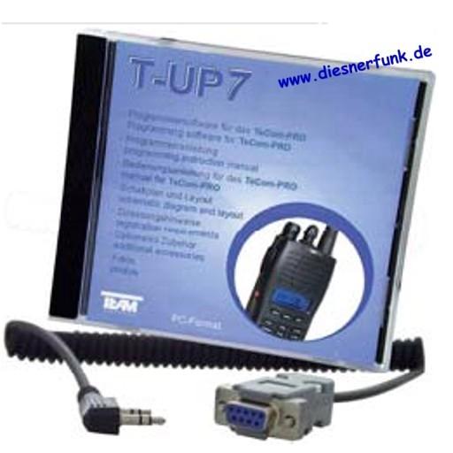 Team T-UP7 PC-Programmiersoftware für TeCom Pro COM