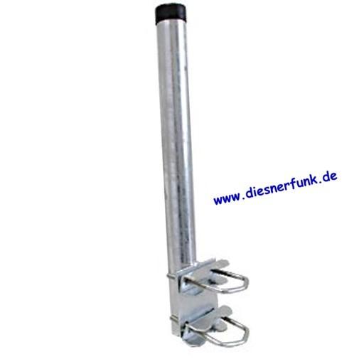 Mast für Geländer 800mm feuerverzinkt mit TÜV