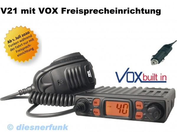 Team CB Mobile MiniCom VOX CB Funkgerät V21