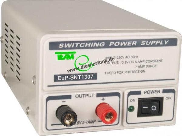 Team Schaltnetzteil EuP SNT 1307 für Funk 5-7 A 13,8 V