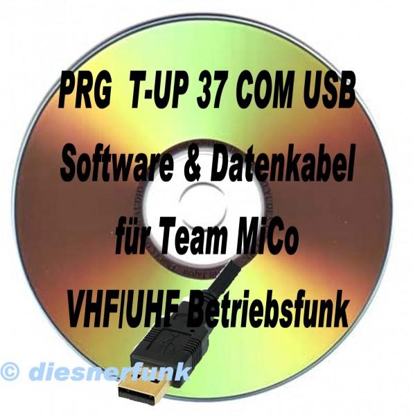 TEAM T-UP37 Programmierkabel & Software für TEAM MiCo Betriebsfu