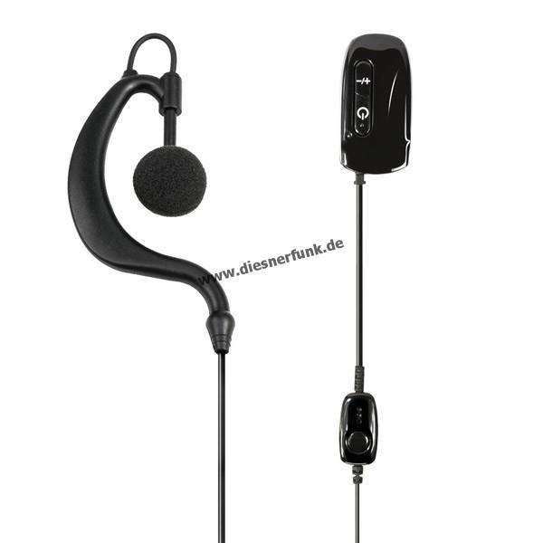 MIDLAND WA21 Bluetooth Headset mit PTT-Taste für WA-Dongle