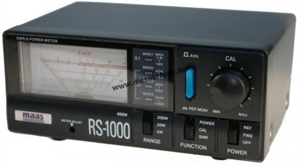 MAAS RS-1000 SWR & PWR Meter 1.8 - 1300 MHz 400Watt