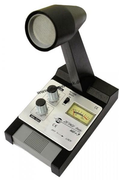 ZETAGI MB +9 Standmikrofon mit Echo & Verstärker
