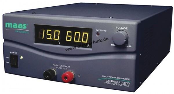 MAAS SPS 9600 Schaltnetzteil 60 Ampere