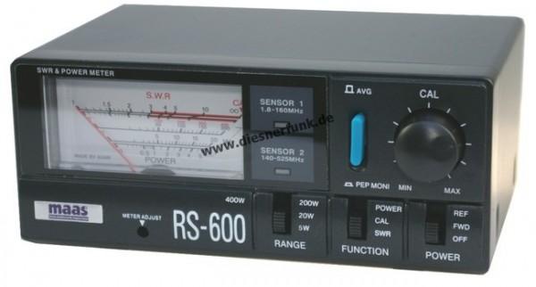 MAAS RS-600 SWR & PWR Meter 1.8 - 525 MHz 400Watt