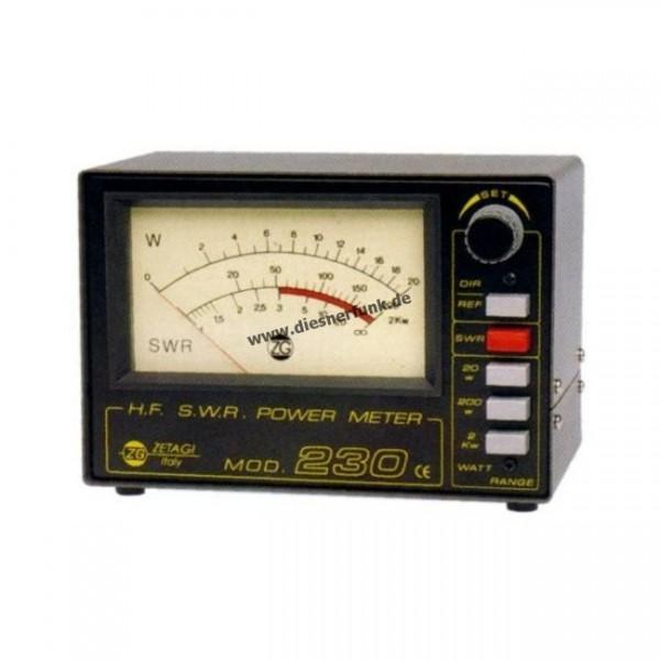 ZETAGI 230 SWR-PWR Meter