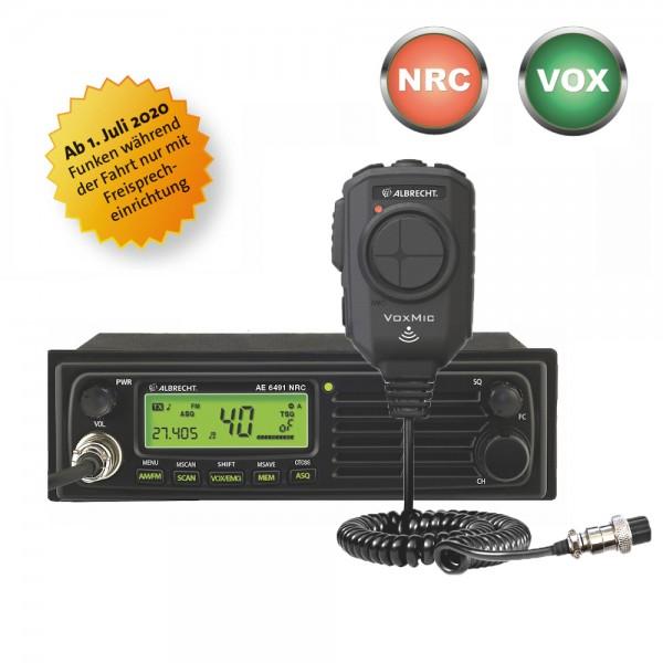 Albrecht AE 6491 NRC inkl. VOX Mikrofon CB Funkgerät DIN