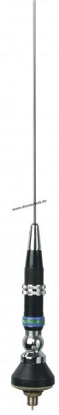 President IOWA CB Funk Antenne mit DV & M6 Anschluß Länge 1020mm