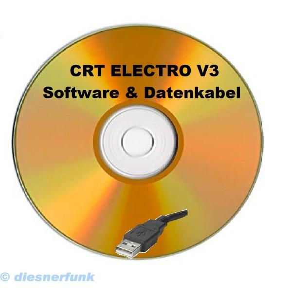 CRT ELECTRO USB Programmierkabel + Software