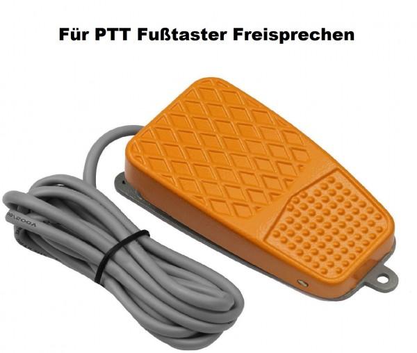 Fußschalter - Taster Fußtaster 10A 250V für PTT Fußtaster Freisprechen
