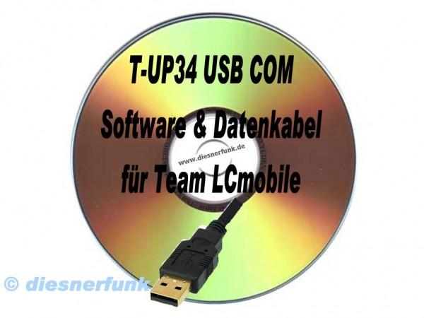 TEAM T-UP34 Programmierkabel & Software für TEAM LCmobile