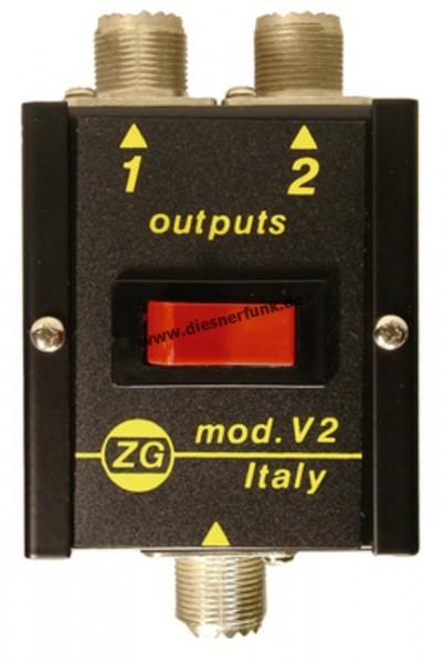 ZETAGI V2 Antennenschalter 2-fach