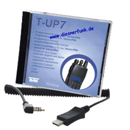 Team T-UP7 PC-Programmiersoftware für TeCom Pro USB