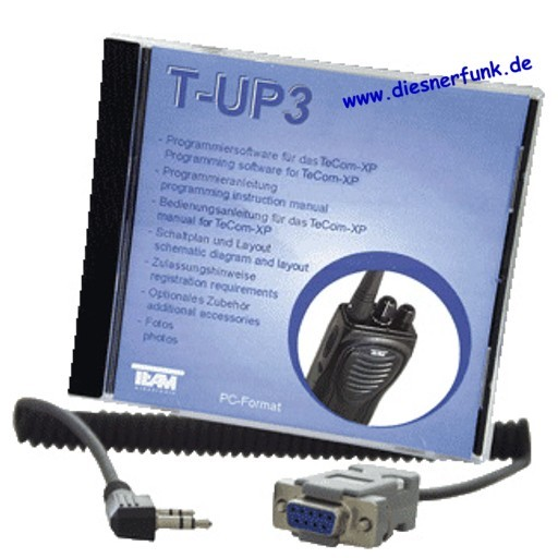 Team T-UP3 PC-Programmiersoftware für TeCom-XP