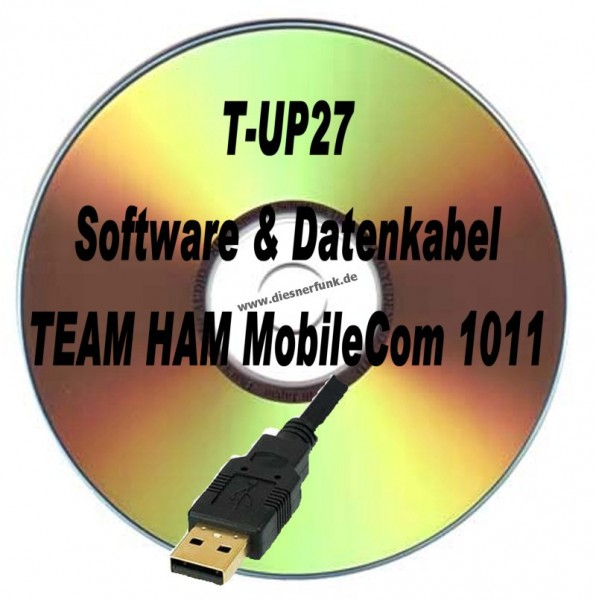 TEAM HAM MobileCom 1011 T-UP27 Programmierkabel + Software