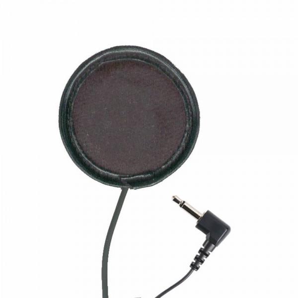Helm Ohrhörer Klettbefestigung Fahrschule Skischule 2,5mm Stereo