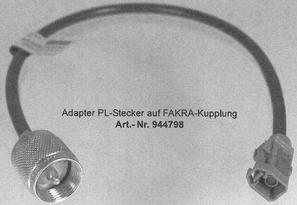 Adapter PL-Stecker auf Fakra-Buchse Mercedes CB für SWR Messung!