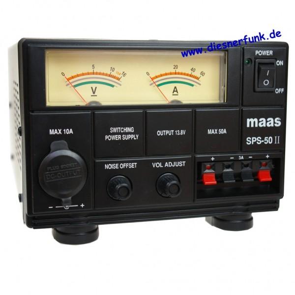 MAAS SPS-50-II Schaltnetzteil 9-15V DC / 55 A