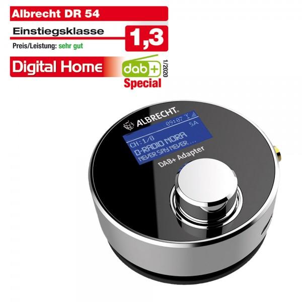 Albrecht DR 54 DAB+ Digitalradio-Tuner