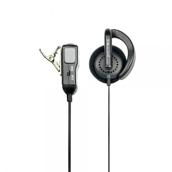 MA 24-L Clip Mikrofon mit Ohrhörer S-Norm L-Stecker