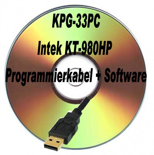 Intek KT980HP KPG-33PC Programmierkabel + Software