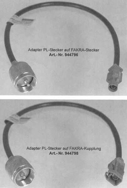 Fakra Adapter Kabel SET Mercedes CB für SWR Messung