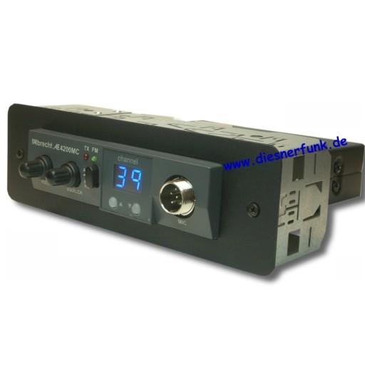 DIN 4200 Einschubhalter für Albrecht AE4090 AE4200 Stabo Magnum