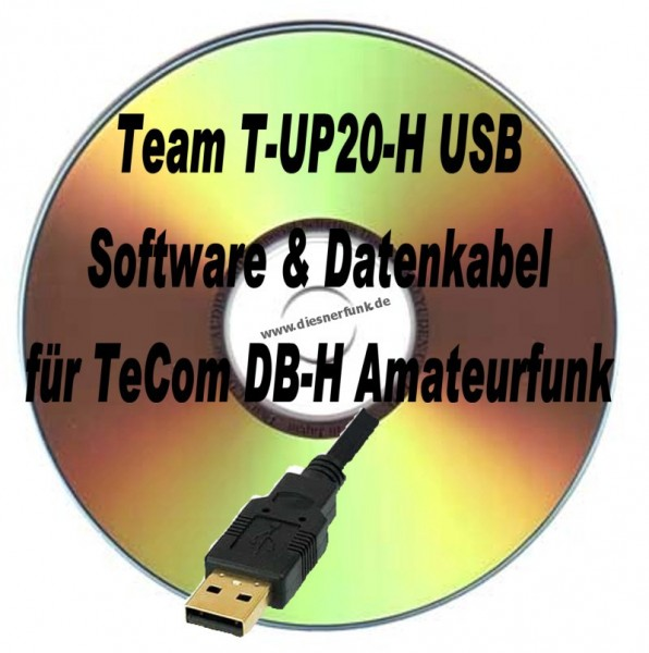 TEAM T-UP20-H USB Programmierkabel & Software für TeCom DB-H