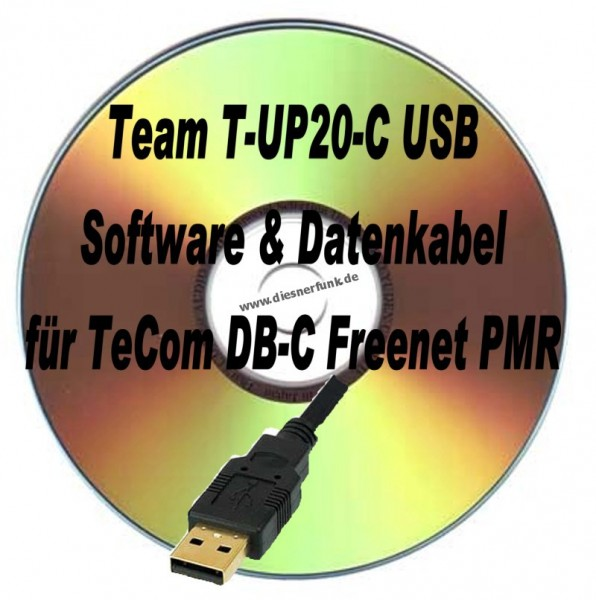 TEAM T-UP20-C USB Programmierkabel & Software für TeCom DB-C